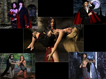 Download Vampires Immortal wallpaper