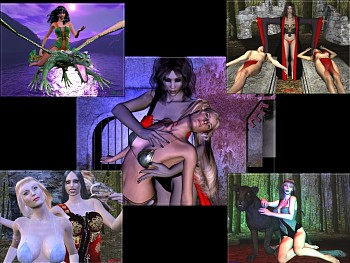 Download Vampiress wallpaper